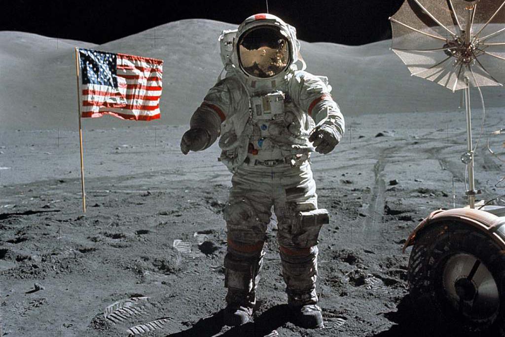 Astronaut Eugen Cernan byl posledním člověkem na Měsíci