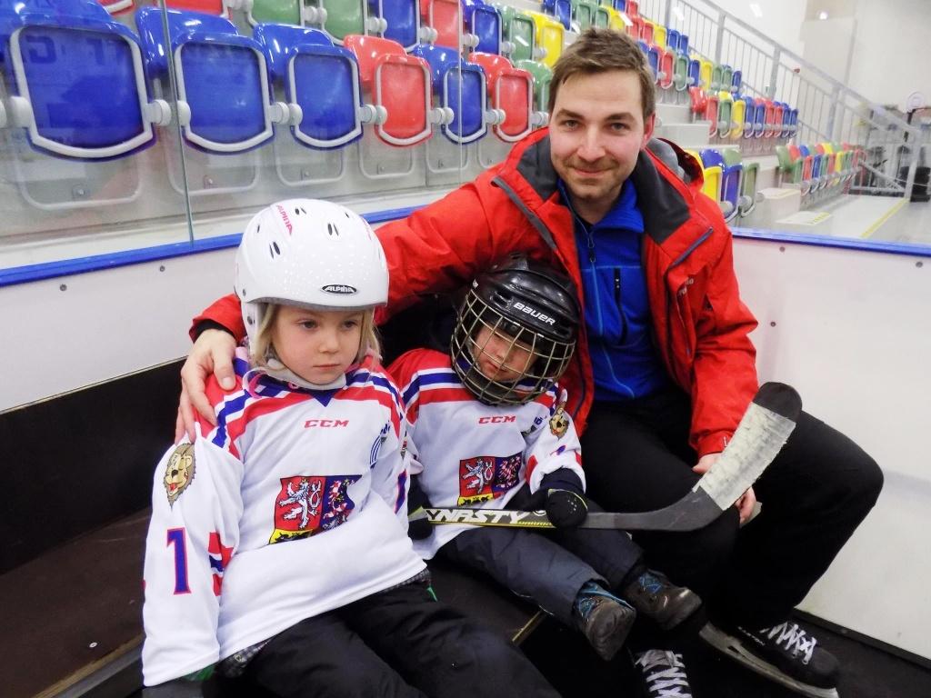 9acac5b2c Pojď hrát hokej, lákal děti v Turnově Český svaz ledního hokeje | Liberec