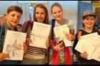 Děti s omalovánkami Blanky Kučerové, nejnovější vydání omalovánek Jilemnice, nejdříve vyšly omalovánky Vysoké nad Jizerou
