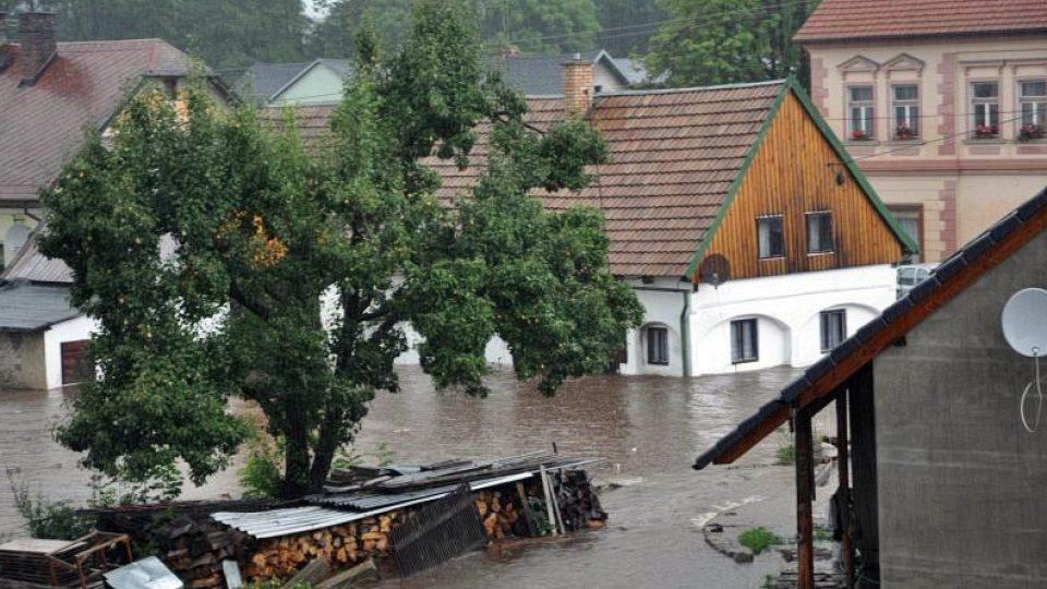 Povodně srpen 2010 - Raspenava