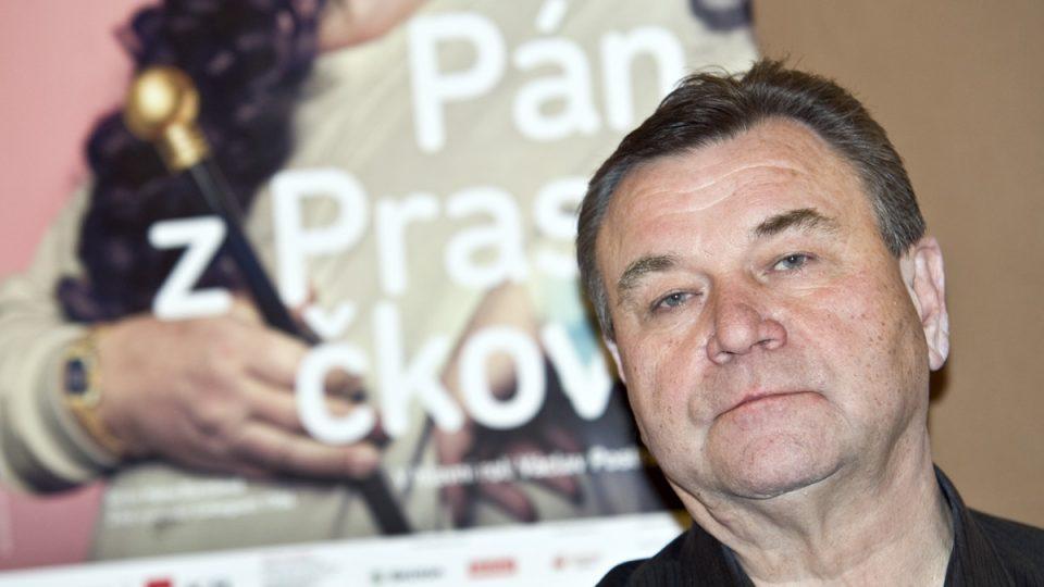 Tisková konference k nové inscenaci Pán z Prasečkova, Václav Postránecký