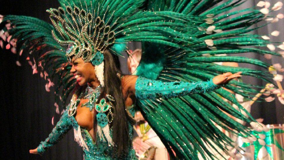 Masopust v Novém Boru: Brazilská tanečnice