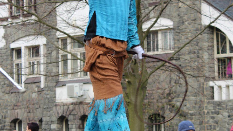 Masopust v Novém Boru: Kejklíř