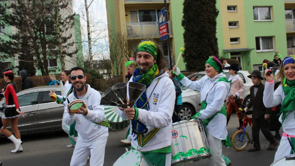 Masopust v Novém Boru: Tam Tam Batucada