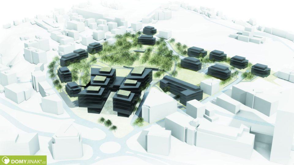 Perštýn Park - návrh z roku 2016