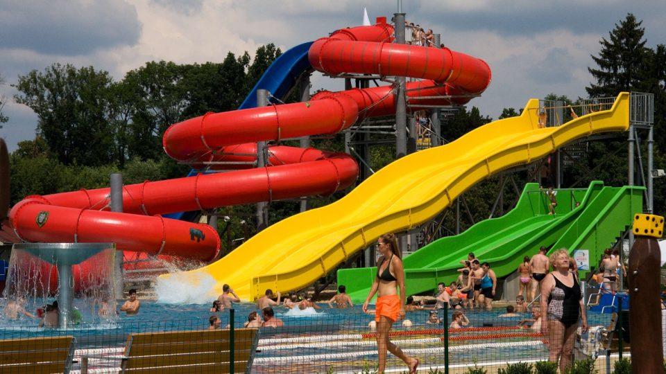 Turnovské sportoviště Maškova zahrada nenabízí jen koupání v bazénech, na své si přijdou i milovníci adrenalinu