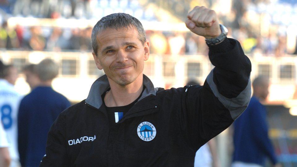 Vítězslav Lavička, trenér FC Slovan Liberec