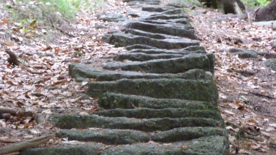 Schody na Mariánskou horu