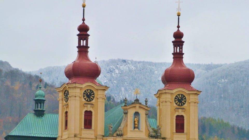 Dvouvěžový chrám v Hejnicích