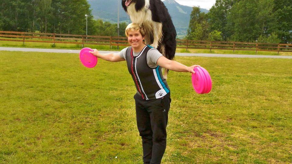 Bez tréninku by nebyly ani výsledky. Podle Pavly Hejralové musí z 80 procent trénovat člověk, méně pak pes