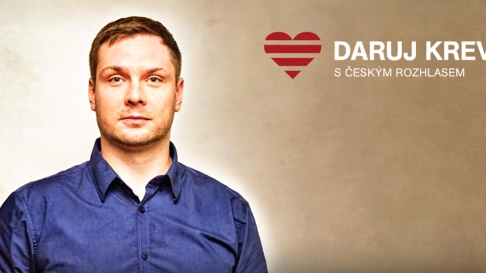Do projektu Daruj krev s Českým rozhlasem se zapojil taky redaktor Stanislav Janalík