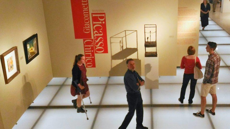 Liberecká Oblastní galerie vystavuje výtvarnou bombu