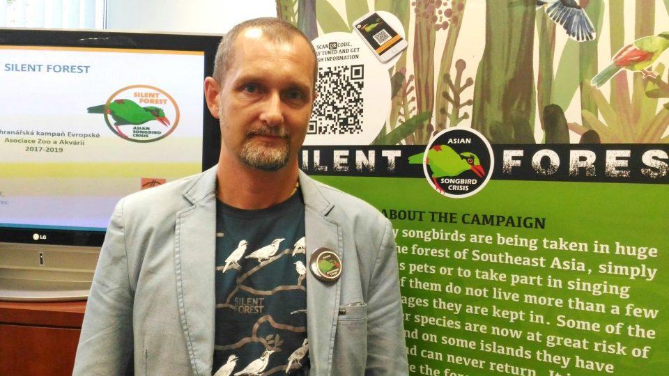 David Nejedlo, ředitel liberecké zoo, která se významně zapojila do projektu ochrany zpěvného ptactva v jihovýchodní Asii