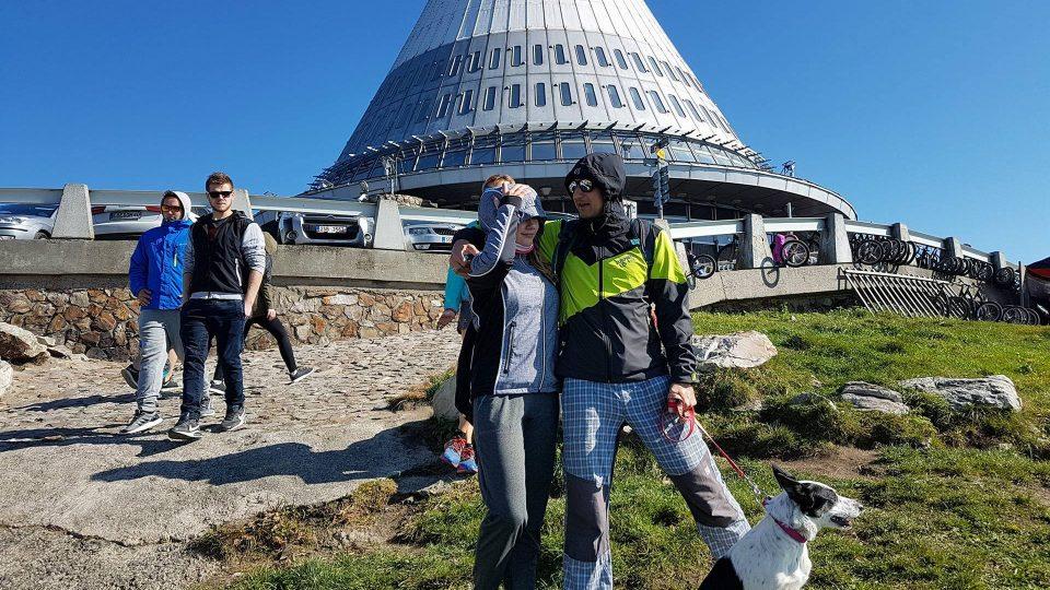Turisté na Ještědu (ilustrační foto)