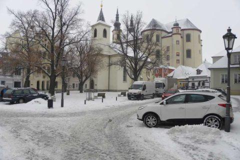 Litomyšl - pohled na klášter