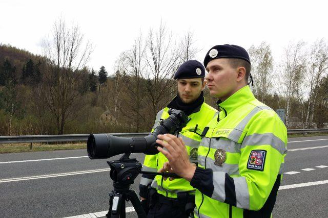 Měření rychlosti  (ilustrační foto)   foto: Eva Malá,  Český rozhlas Liberec