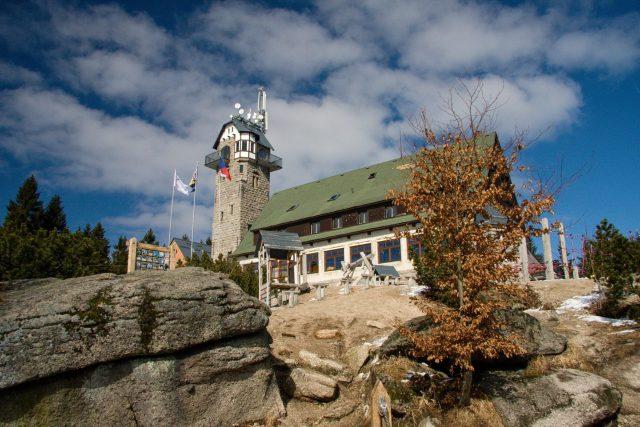 Královku nad Bedřichovem v Jizerských horách postavili v roce 1907 za rekordních 5 měsíců | foto: Jaroslav Hoření,  Český rozhlas Liberec