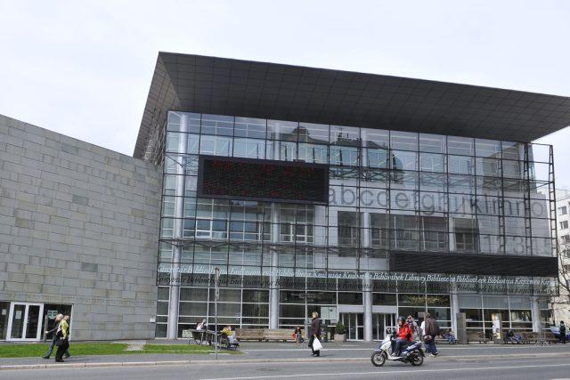 Budova Krajské vědecké knihovny Liberec na archivním snímku   foto: Tomáš Adamec