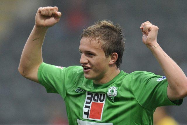 Jablonecký Jan Kopic slaví svůj první ligový gól