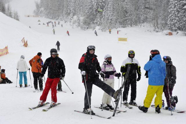Jizerské hory jsou plné lyžařů  (ilustrační snímek) | foto: ČTK