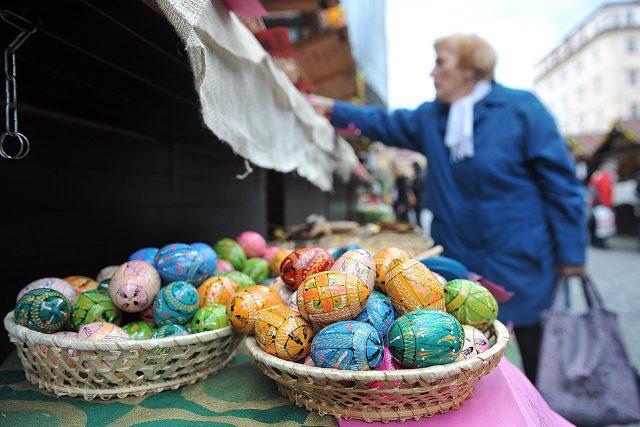 Velikonoce, kraslice, malovaná vejce