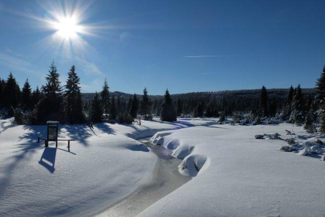 Jizerské hory v zimě  | foto: Renata Dudová