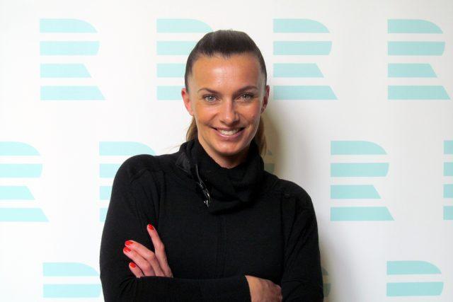 Herečka, modelka a moderátorka Alice Bendová