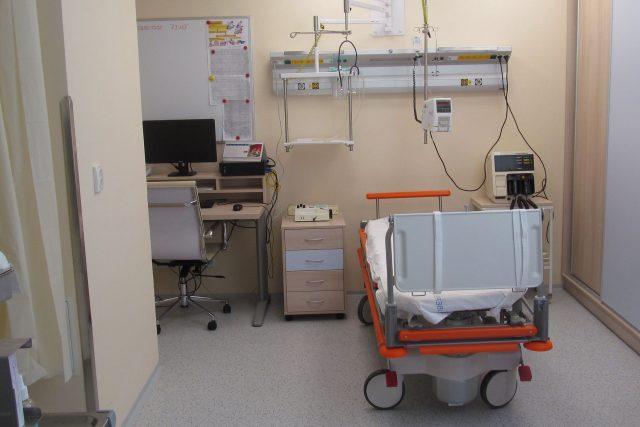 Nové zařízení na centrálním interním příjmu Krajské nemocnice v Liberci