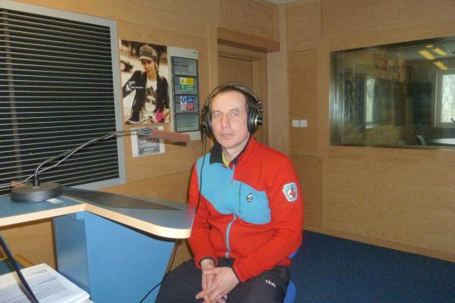 René Mašín,  náčelník Horské služby v Jizerských horách   foto: Iveta Kalátová