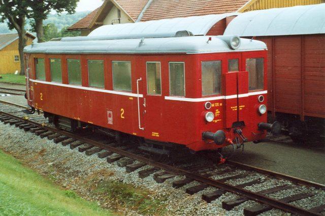 Legendární vlak, který si díky své podobě vysloužil přezdívku Hurvínek