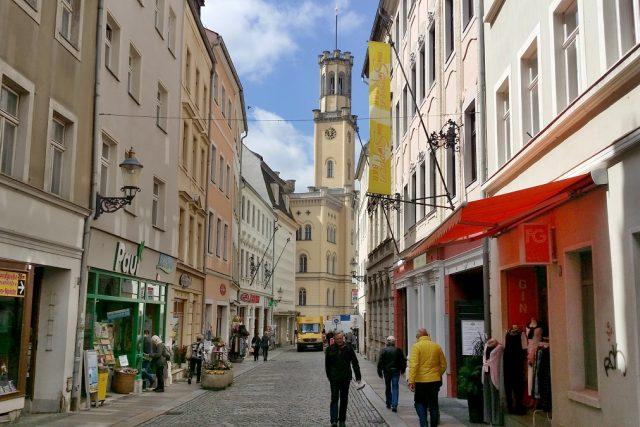 Centrum německé Žitavy | foto: Šárka Škapiková,  Český rozhlas