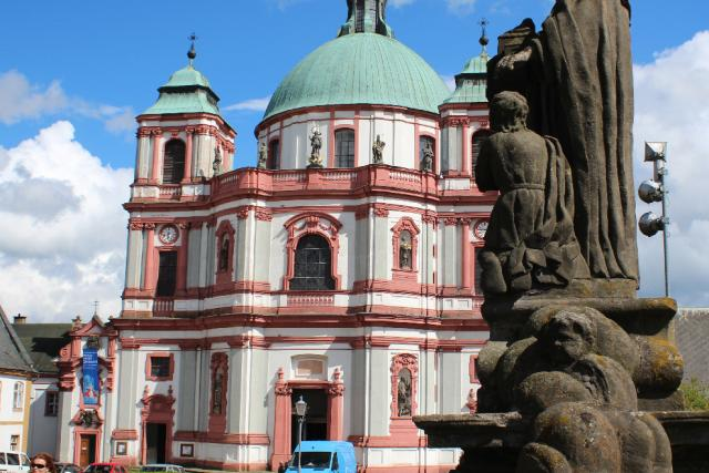 Bazilika sv. Vavřince a sv. Zdislavy v Jablonném | foto: Tomáš Mařas