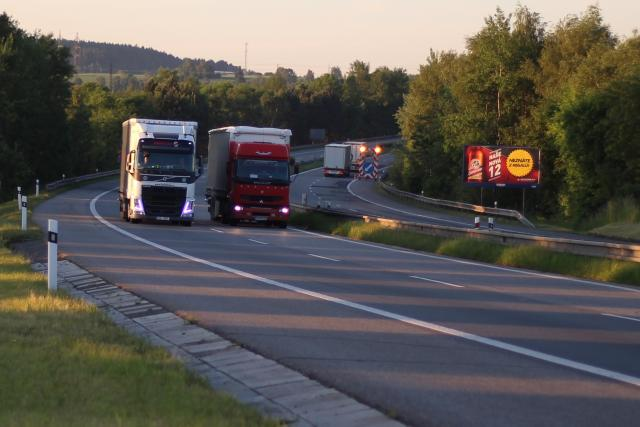 Předjíždění kamionů, dálnice D1