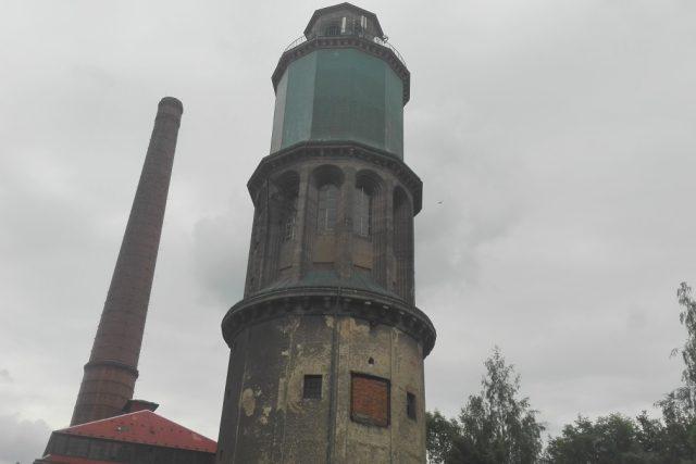 Zauhlovací věž v libereckých Vratislavicích se má stát kulturním centrem Zauhlovačka