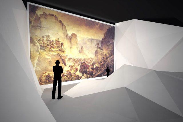 Snímky ze studie k připravovanému horolezeckému muzeu v Turnově