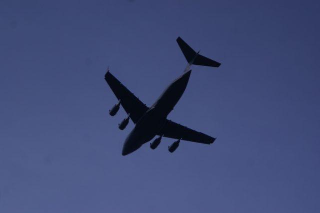 Obří letoun americké armády - C 17 Globemaster
