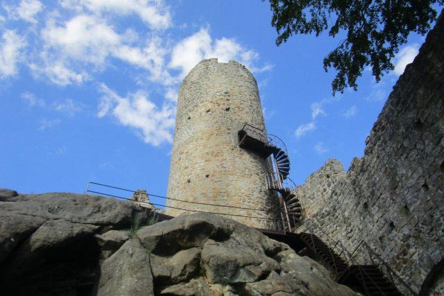 Zřícenina hradu Frýdštejn | foto: Jaroslava Mannová