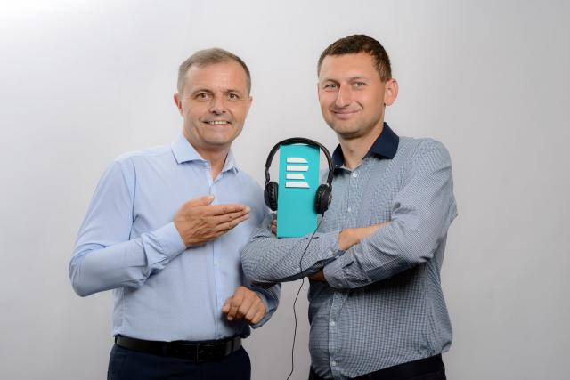 Jan Žíla a Tomáš Beneš, moderátoři Dobrého rána z Liberce