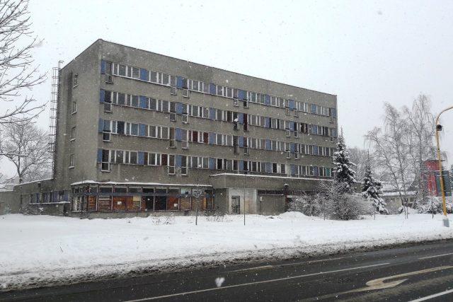 Bývalá ubytovna Kovák v Chrastavě | foto: Ivana Bernáthová,  Český rozhlas