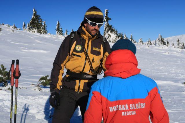 Lavinový kurz horské služby   foto: Robert Dlouhý