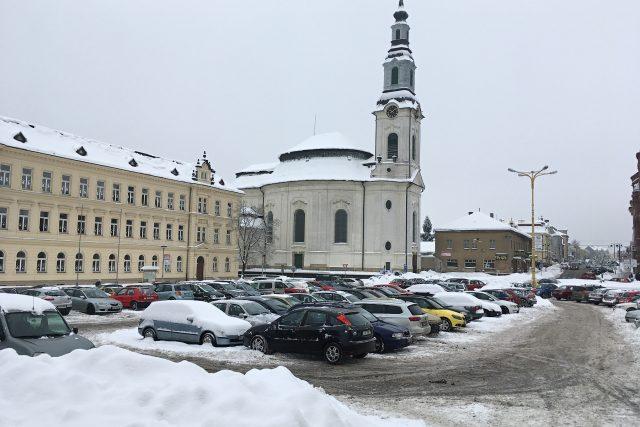 Rekonstrukce náměstí má být hotová do konce roku | foto: Tomáš Mařas,  Český rozhlas