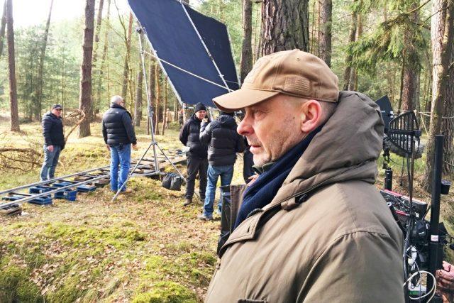 Režisér Václav Marhoul během natáčení