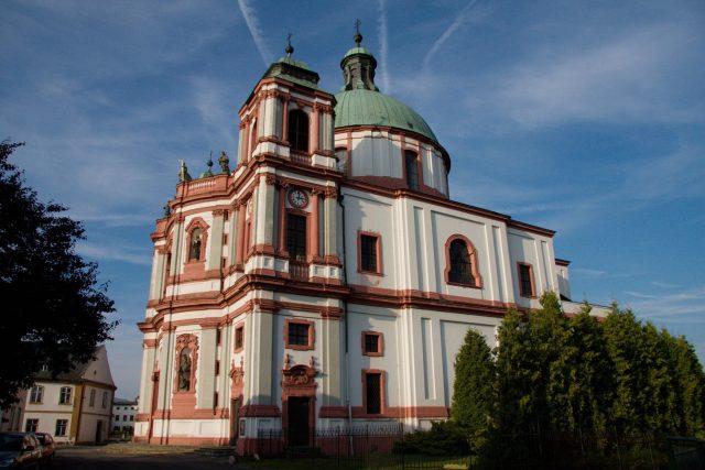 Boční pohled na baziliku | foto: Jaroslav Hoření,  Český rozhlas,  Český rozhlas