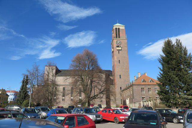 Horní náměstí v Jablonci nad Nisou