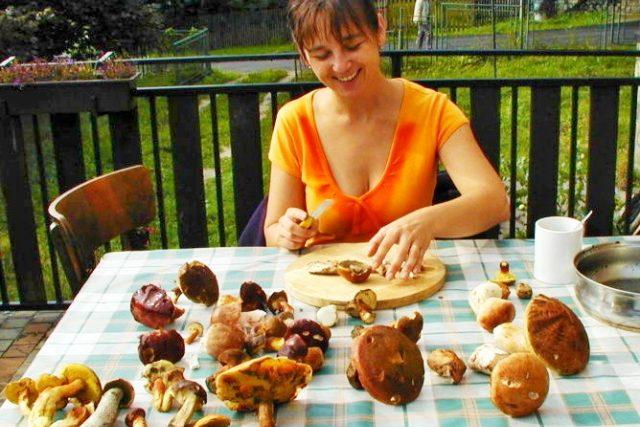 Spokojená houbařka  (ilustr. foto) | foto: Jana Šustová,  Český rozhlas