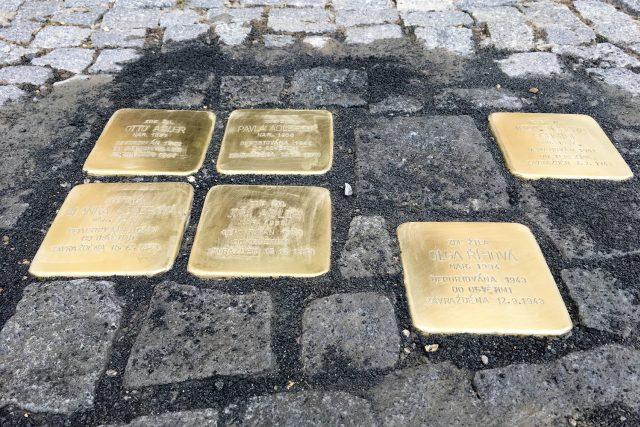 Kameny zmizelých v Chrudimi