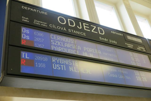 Vlakové nádraží Liberec