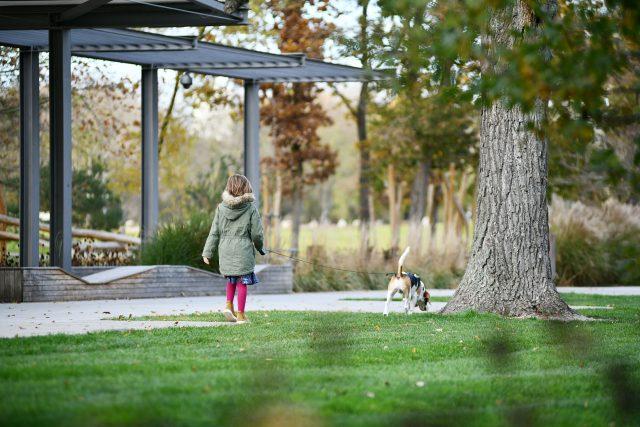 Na procházku se psem do Tyršových sadů. Opravený park se rychle stal jedním z nejoblíbenějších míst v centru Pardubic