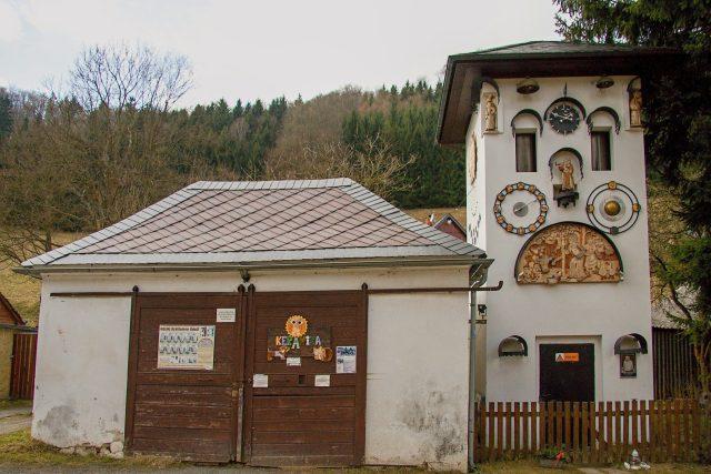 Chaloupkův orloj z bývalé trafostanice | foto: Jaroslav Hoření,  Český rozhlas