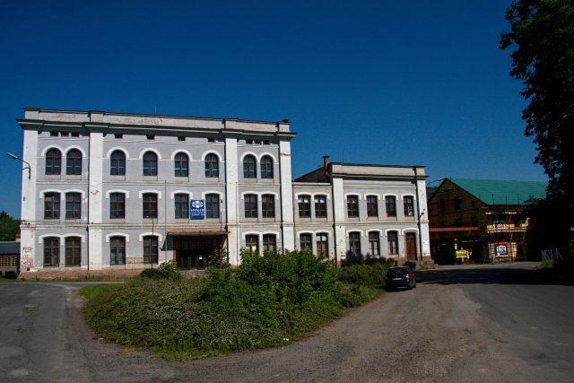 Bývalá semilská továrna Franze Schmitta